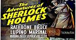 The Adventures of Sherlock Holmes 1939 -- A Mystery / Crime Movie Trailer