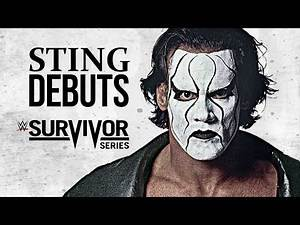 Sting Official WWE Debut (Survivor Series 2014) (WM31 PROMO) HD