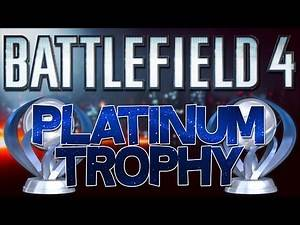 Battlefield 4 [PS4] Platinum Trophy (Infiltrator)