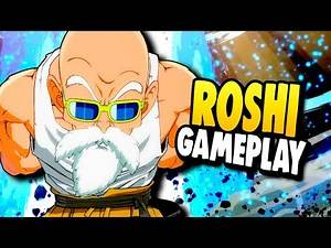 Too Technical?! First Look at Master Roshi in DBFZ