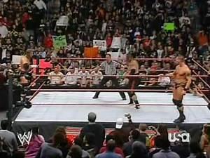 Triple H vs. Randy Orton & Umaga