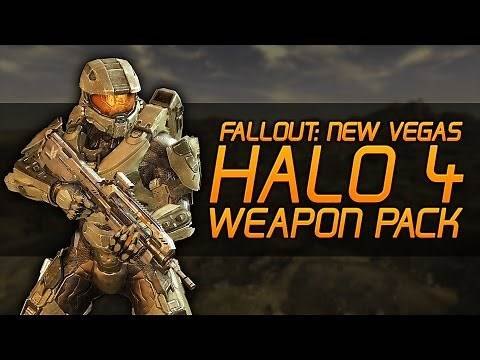 Fallout New Vegas Mods: Halo 4 Weapon Pack