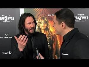 Actor Keanu Reeves discusses hockey's impact on his youth on NHL Celebrity Wrap