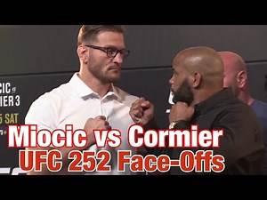 UFC 252 Face-Offs: Miocic vs Cormier