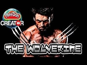How to make The Wolverine (X-Men Movie) with Play-doh | Hugh Jackman Как сделать Хью Джекмана