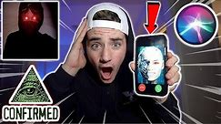 HOW TO GET SIRI TO SHOW HERSELF AT 3 AM!! (PROOF SIRI IS REAL) (SIRI IS SPYING ON US!)