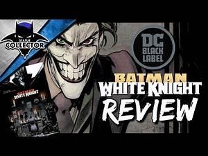 Batman: White Knight ~ DC Black Label Graphic Novel Comic Book Review!