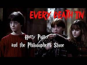 EVERY DEATH IN #17 Harry Potter and the Philosopher's Stone (2001)