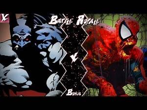 Vampire Batman VS Zombie Spider-Man (DC X Marvel) | Battle Royale Bonus | CX