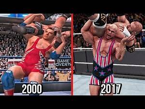The Evolution Of Kurt Angle Angle Slam & Ankle Lock (WWF No Mercy To WWE 2K18 )