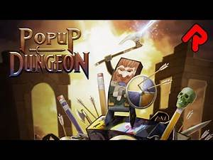 POPUP DUNGEON gameplay: Make Your Own Roguelite Tabletop RPG! | (Pop up Dungeon PC full release)