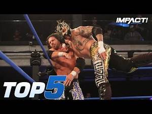 Top 5 Most INSANE Moments from Johnny IMPACT vs Fenix | IMPACT! Highlights Oct 18, 2018