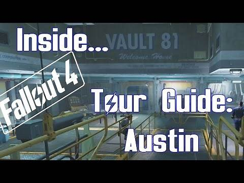 Fallout 4 - Inside Vault 81 - Tour Guide: Austin, Vault School Boy
