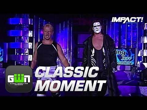 Sting Debuts at IMPACT's 1st Anniversary Show (NWA-TNA PPV #50) | Classic IMPACT Moments