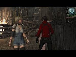 Resident Evil 4 - Agent Wong with Hunk's skills