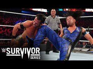 Nakamura blasts Strong with a brutal running knee: Survivor Series 2019 (WWE Network Exclusive)