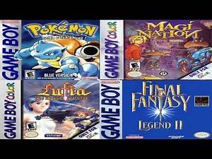 Top 10 Worst RPG Dungeons - Gameboy / Gameboy Color Edition (GB and GBC)