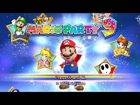 Mario Party 9 - Full Game Walkthrough