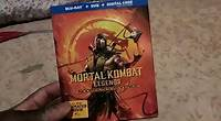 Mortal Kombat Legends Scorpion's Revenge dvd unboxing
