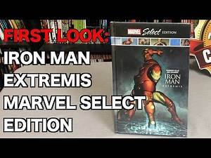 FIRST LOOK: Iron Man: Extremis Marvel Select Edition Hardcover