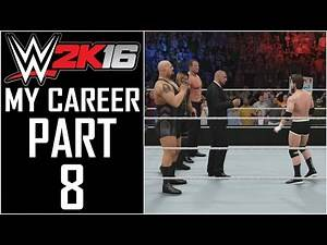 """WWE 2K16 - My Career - Let's Play - Part 8 - """"The Authority"""" 
