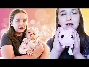 Madison Vlogs Before School: Reborns and Squishy Collection