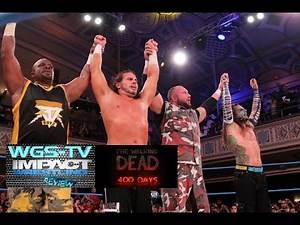 TNA Impact Wrestling 8/14/14 Full Show Review (The Walking Dead 400 Days #2)