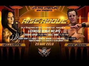 APW - Rise Above: Zane Zodiac Vs Kellyanne