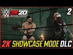 WWE 2K20 : 2K SHOWCASE DLC - The Demon Within Part 2 vs Bludgeon Brothers - Bump In The Night DLC
