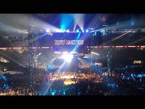 Drew McIntyre makes his entrance at 2019 Men's Royal Rumble