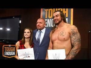 Triple H wünscht Josh & Sara Glück auf ihrem Weg: WWE Tough Enough Digital Extra – 25. August 2015