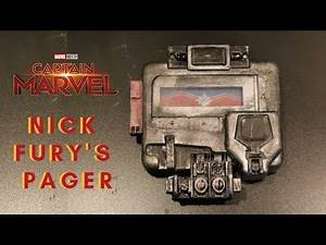 Nick Fury's Pager - Captain Marvel DIY 3D Print