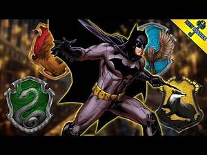 Sorting the Justice League into Hogwarts Houses