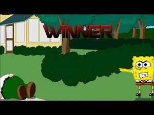 M.U.G.E.N Battle: Spongebob & Patrick vs Homer Simpson & Peter Griffin