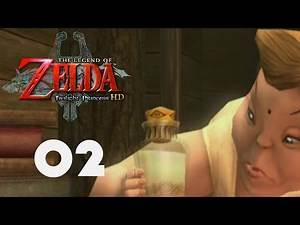 Zelda : Twilight Princess HD - Part 02 - Fishing For A Slingshot!!!