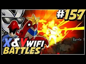 "Pokemon X and Y Wifi Battle #157 - Live Vs Remy ""MR BAGELS CALM DOWN!"""