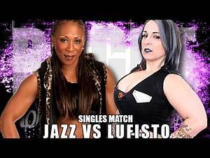 (Free Match) LuFisto Vs Jazz - WWE ECW Legend - Rogue Women Warriors - Atomic Championship Wrestling