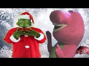 The Grinch Vs Barney The Dinosaur