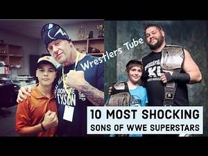 10 Most Shocking Sons of WWE Superstars in Real Life 2017 | By Wrestlers Tube