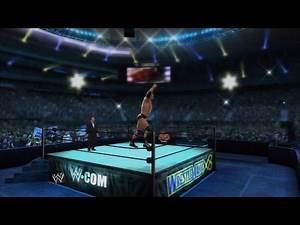 WWE 2K14 - Wrestlemania X8: The Rock vs. Hollywood Hulk Hogan