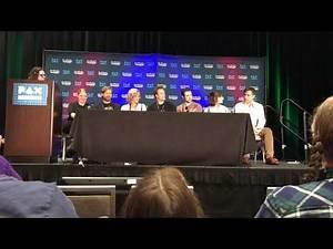 Telltale's The Walking Dead Reunion Panel PAX West 2018 Seattle Part 1