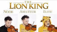 4 Levels of The Lion King Game Music: Noob to Elite