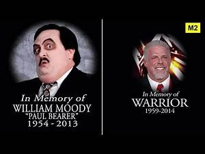 All 44 Wrestlers Who Died in The 2010s - Wrestlers Deaths (2010-2017)