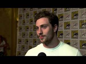 The Avengers: Age of Ultron: Aaron Taylor-Johnson Comic Con Movie Interview