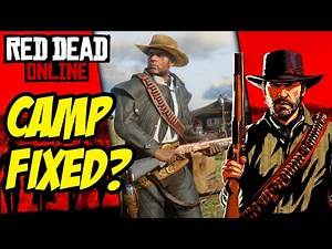 Red Dead Online Camp Is Finally FIXED! RDR2 Online Camp Glitch Fixed (RDO Trader Business)
