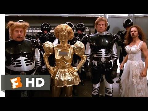 Spaceballs (10/11) Movie CLIP - Rescuing the Princess (1987) HD