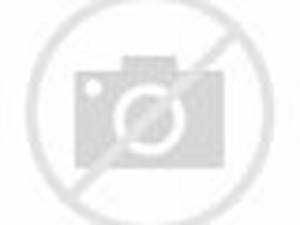 The rock in backstage with Trish and Jeff