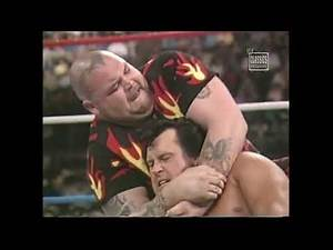 HONKY TONK MAN vs BAM BAM BIGELOW for the IC TITLE MATCH