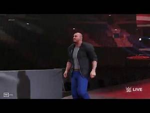 WWE 2K19 | BATISTA ENTRANCE WITH UPDATED ARENA EFFECT THEME SONG EMPTY ARENA