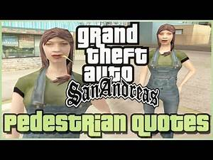 GTA San Andreas Pedestrian Quotes : Country Female HillBilly (#CWFYHB)